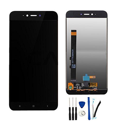 SOMEFUN Completa Pantalla Táctil LCD de Digitalización Asamblea Pantalla de Recambio para Xiaomi Redmi Note 5A (2GB RAM)/Redmi Y1 Lite Negro
