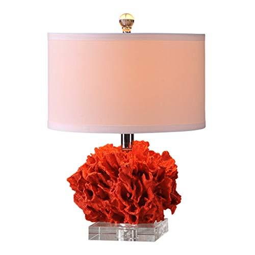 Lampe de table Salon Décor Bureau d'étude Lampe Tissu Moderne Ombre Chambre Creative Design Décoration Cristal