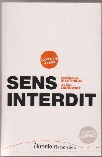 Portada del libro Sens interdit, EPREUVES NON CORRIGEES