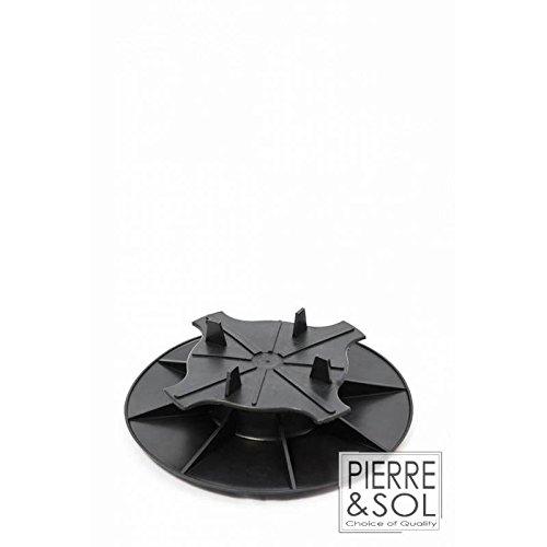 Plot réglable simple et économique - PV - Solidor - 30 à 50 mm, C3/4T - Dalle