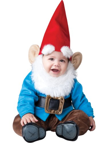 Baby Kostüm Gnome - InCharacter Lil' Garden Gnome Costume S (6-12 months)