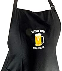 Idea Regalo - Grembiule (Wish you were beer)