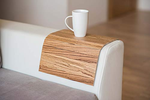 Exotic Holz Sofa Arm Tablett Bildschirmschutzfolien Armlehne Tisch Sofa Tisch Untersetzer Sofa Tablett 2. -