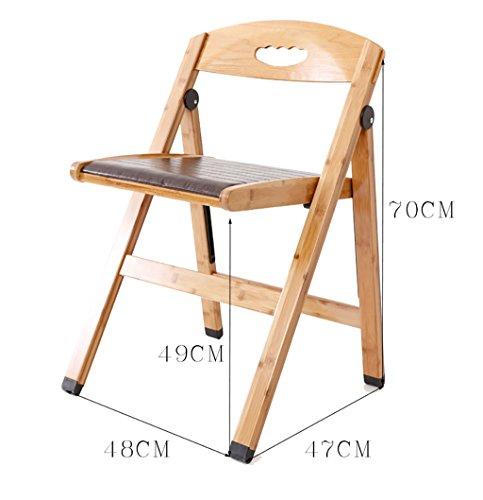 MXXYZ Klappsessel klappstühle Klappstühle Real Computer Stühle Haushalt Anti - Slip Stühle Anti - Slip Stühle Casual Klappstühle
