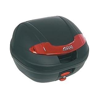 Givi E340N E340 Vision-Monolock Topcase mit Platte schwarz Uni/Max Zuladung 3 kg
