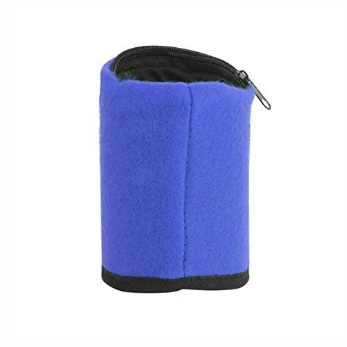 PANGUN Honana Hn-B9 3 Farben Zipper Armband Organizer Pocket Card Münze Schlüssel Aufbewahrungstasche Sport Wallet-Blau
