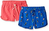 Amazon-Marke: Spotted Zebra Mädchen 2-Pack Knit Dolphin Hem Shorts, 2er-Pack