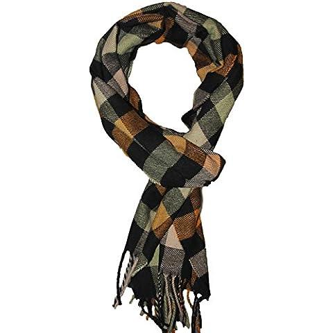 Kissing U Inverno Sciarpa Calda a Quadri Dello Scialle dell'involucro con (Scialle Pattern Maglia)