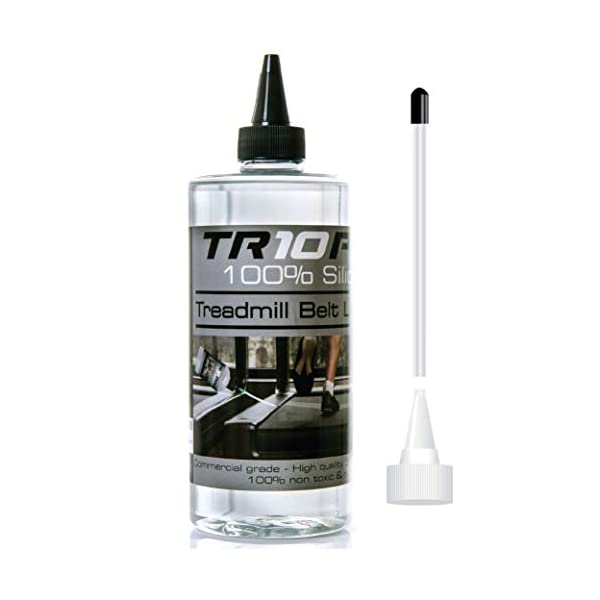 Il migliore Olio Lubrificante Silicone per Tapis Roulant TR10Pro 100% per Tapis Roulant Controllo Extra Lungo 500 ml… 1 spesavip