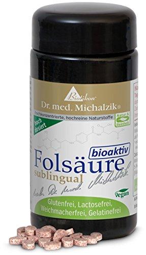 Folsäure bioaktiv (Vitamin B9) nach Dr. med. Michalzik - ohne Zusatzstoffe