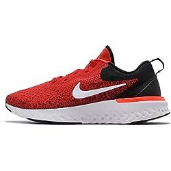 Nike Herren Laufschuh Odyssey React, Zapatillas de Running para Hombre, Rojo (Habanero Red/White-B 600