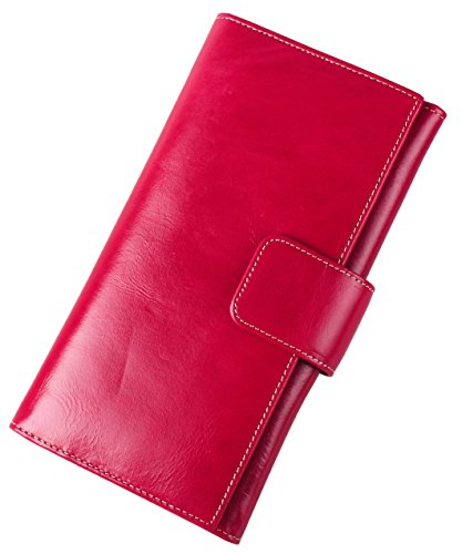lh-saierlongr-womens-bifold-wallet-rose-red-genuine-leather-wallets