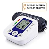Grin Health BP Machine Fully Automatic Digital Blood Pressure Monitor With Micro Intelligent