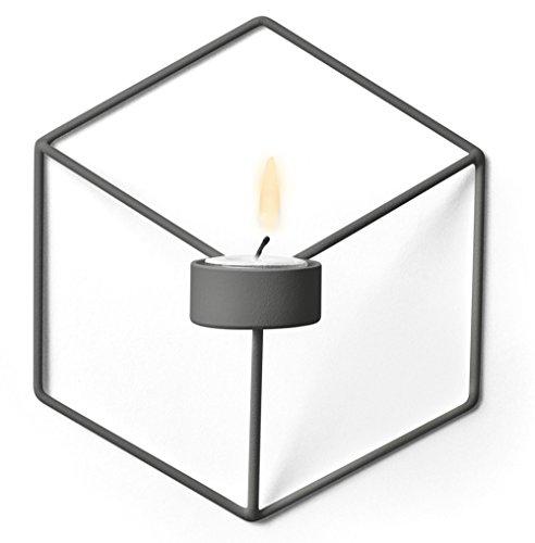 Menu - POV Wandkerzenhalter - warmgrau - Note Design Studio - Design - Kerzenhalter