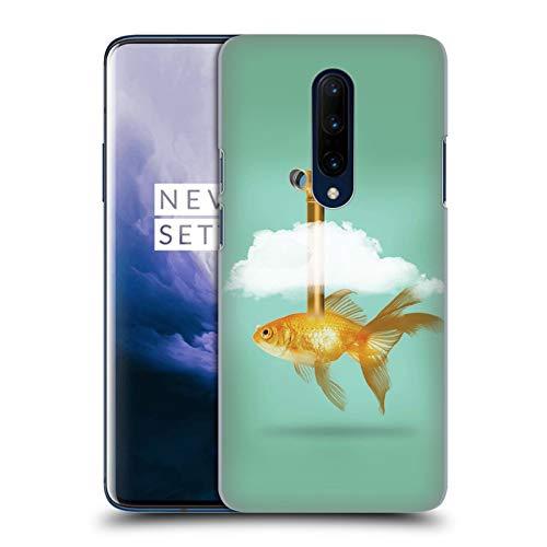 fizielle Vin Zzep Periskop Goldfisch Fisch Harte Rueckseiten Huelle kompatibel mit OnePlus 7 Pro ()