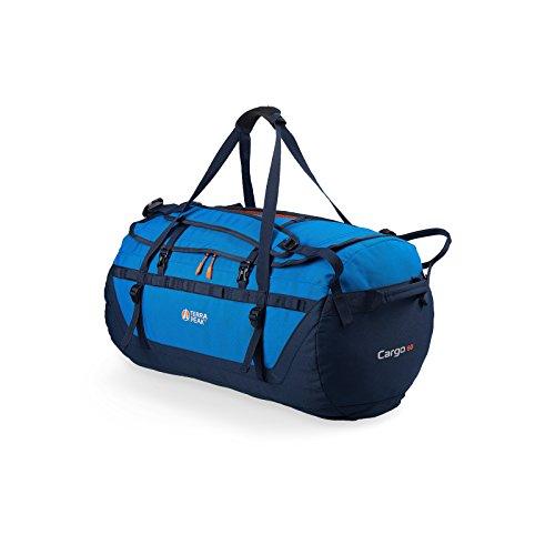 Terra Peak Rucksack Cargo 60 Reisetasche Fitnesstasche verschiedene Farbvarianten, Farbe:mid blue