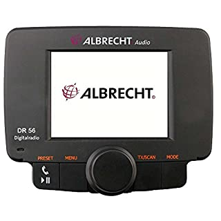 Albrecht DR 56 Autoradio DAB+ Adapter Digitalradio mit Bluetooth Freisprechanlage in schwarz
