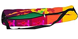 Latest Poly Canvas Yoga Mat Bag / Cover. Easy Fit up to 4 mm thick yoga Mat. Print Design : Men and women Yogic pathBuy with confidence it comes Direct from Factory No Middle Men in between  Enjoy the Power of B2C ecommerce Power ? Flat Size : 8 x 27...