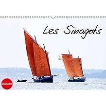 Les sinagots : Photos d'anciens bateaux de pêche du début du XXe siècle. Calendrier mural A3 horizontal