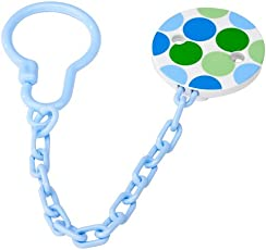 Dr. Brown's Baby's Pacifier Chain Soother Clip (Multicolour, AC037)