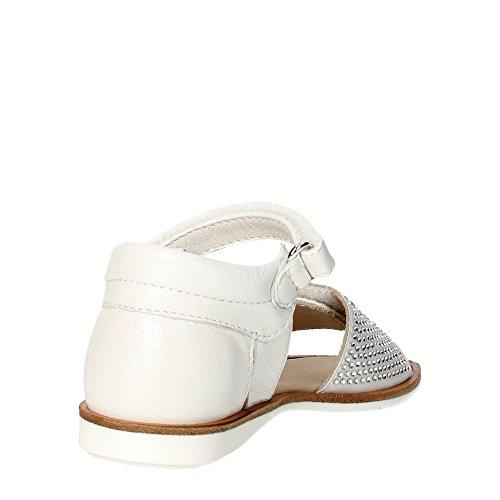 Florens W6069 Sandale Fille Blanc