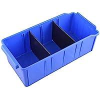 Aadvay Enterprises Blue Pand Shelf Bin PSB 303 (12 PIECES of One Pkt) /Automotive, Electronic, Engineering Small…