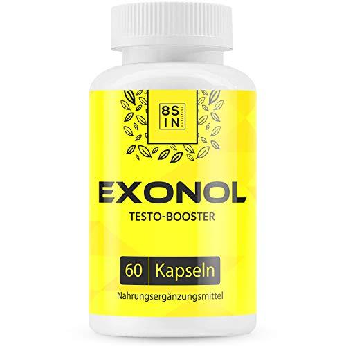 Exonol | Muskelaufbau | Testosteron Booster | 60 Kapseln | hochdosiert
