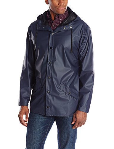 RAINS Jacket, Manteau Homme Bleu