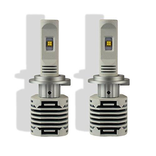 NIGHTEYE 12000LM Led Autoscheinwerfer mit Philips ZES Chips Licht 80W 6000K Weiß LED Abblendlicht Ersetzt Halogen & HID Birne -- 3 Jahre Garantie ( h7 )