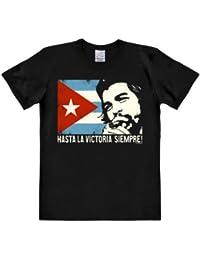 Logoshirt Easy Fit Che Guevara - Cuban Flag - T-shirt - Homme