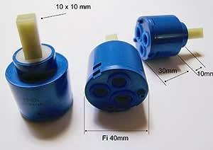 40 mm Kartusche Patrone Steuereinheit Keramik für Wasserhahn