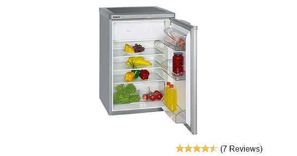 Kühlschrank Bomann Silber : Bomann ks 197 kühlschränke a 84.5 cm höhe 137 kwh jahr 104 l
