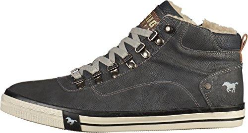 Mustang 4103-601-9, Sneaker a Collo Alto Uomo Nero (Schwarz)