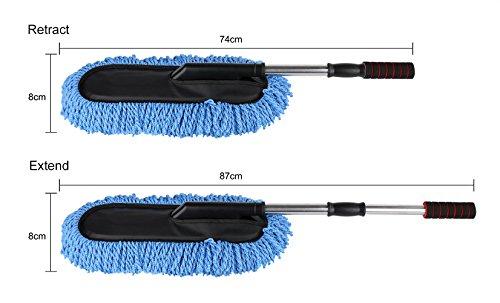 Winthome-auto-blu-Duster-estraibile-telescopica-a-scomparsa-Maniglia-cera-per-auto-trascinare-Mop-microfibra-Car-Wash-spazzole-dei-tergicristalli