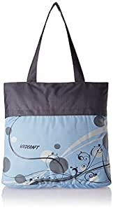 Wildcraft W Polyester 38.1 cms Blue Travel Tote (8903338210108)