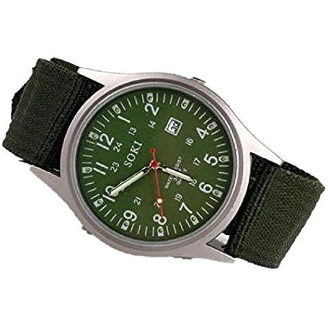 ZARU Para hombre de lujo relojes de cuarzo analógicos Moda GN