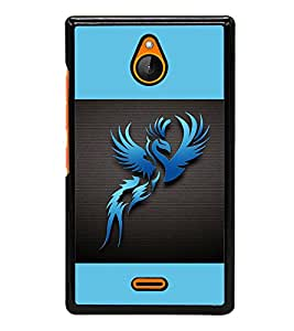 printtech Phoenix Simple Back Case Cover for Nokia XL