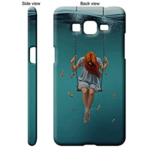 TheGiftKart™ Paint Art Water Girl on a Swing Back Cover Case for Samsung Galaxy Grand PRIME - Multicolor