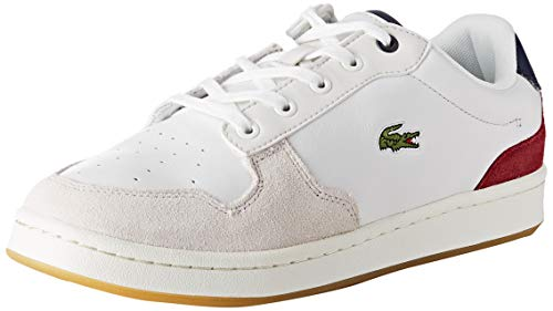 Lacoste Damen Masters Cup 319 2 SFA Sneaker, Weiß (Off Wht/NVY/Dk Red Ond), 41 EU
