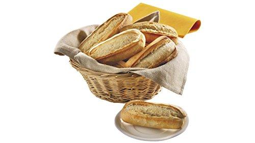 Petits pains blancs précuits - 10 x 55 g - Surgelé