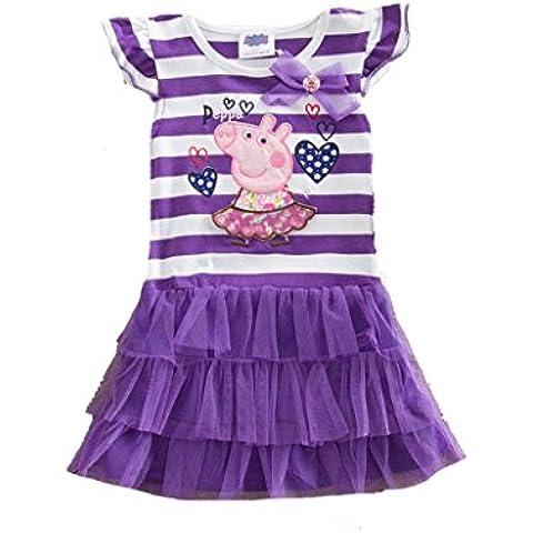 Peppa Pig - Vestido - skater - para niña