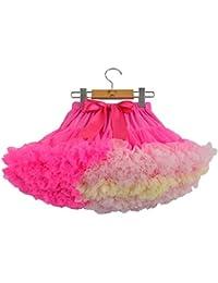 a3b609af7a6c Layered Ruffle tulle balletto delle ragazze pannello esterno del tutu 0-10T