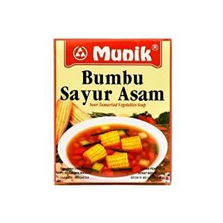 Munik Bumbu Sayur Asem (saure Tamarindengemüsesuppe) Gewürze, 180 Gramm