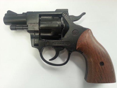 Revolver - pistola giocattolo a salve Olympic bruni scacciacani calibro 380 a salve
