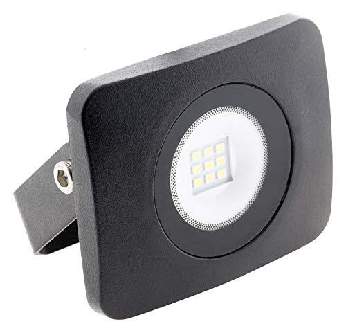 Projecteur LED étanche 10W noir