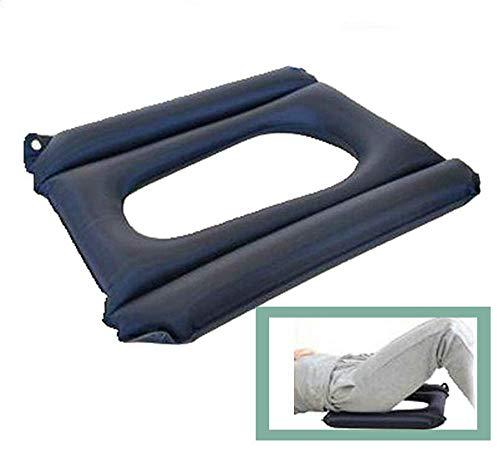 QIANGGAO Anti Dekubitus Rollstuhlkissen Aufblasbare Air Seat Medizinische Orthopädische Unterlage für Patienten Dekubitus Kommode Sitz, Rollstuhlkissen -