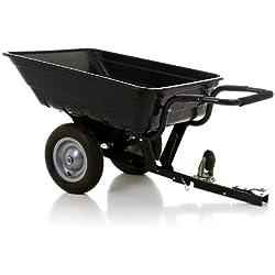 Turfmaster Remorque/Brouette Basculante 200 kg pourtracteurtondeuse, autoportée, quad
