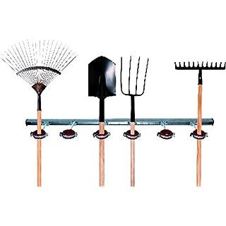 FigoFix Gartengerätehalter, Gartenleiste, Werkzeugleiste, Gartengeräteaufbewahrung