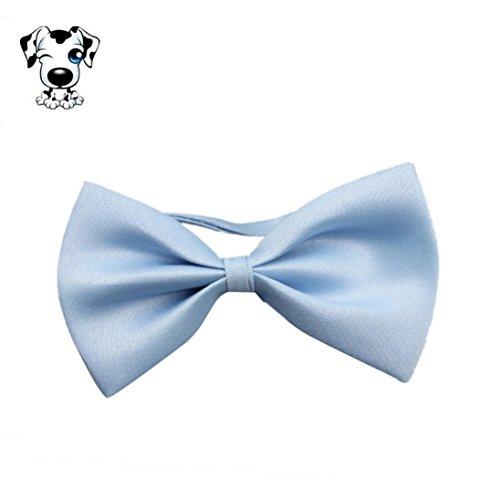LHWY Mode Niedlichen Hund Welpen Katze Kätzchen Pet Spielzeug Kind Fliege Krawatte Kleidung (Hellblau)