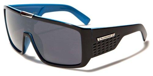 Biohazard Gafas de Sol (Unisex) UV400 (UVA UVB) Con Funda